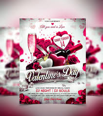 valentines flyer template 45 flyer templates for next day