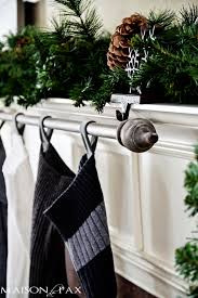 Easy Way To Hang Curtains Decorating Classy And Affordable Diy Stocking Hanger Holiday Decorating