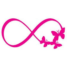 butterfly infinity symbol by montgomeryhomedesign on etsy more yo
