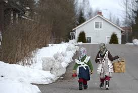 palm sunday traditions blend in finland the columbian