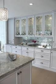 White Kitchen Glass Backsplash Modern Glass Backsplash Kitchen Kitchen Subway Tile And White