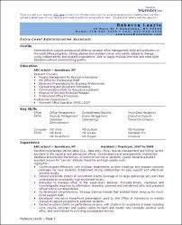Sample Word Resume by Resume Microsoft Office Specialist