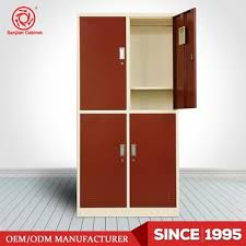 clothes storage cabinets with doors 4 door cabinet design luoyang produce storage metal clothes cabinets