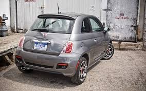 2012 fiat 500 sport editors u0027 notebook automobile magazine