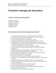 print production manager job description resign letter 2 weeks notice