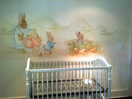 Beatrix Potter Nursery Decor Beatrix Potter Nursery Curtains Baby Nursery Print Rabbit