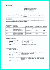 Best Resume Format For Java Developer by Resume Sample For Computer Programmer Resume For Your Job
