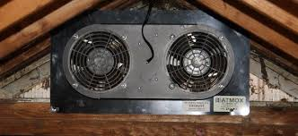 atmox attic controlled ventilation systems attic fans on thermostat