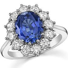ring diana oval sapphire and moissanite princess diana replica ring