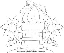 fall coloring pages fun grandchildren autumn bliss