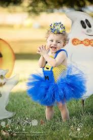 Cowgirl Halloween Costume Toddler Minion Jaibree Minion Costume Tutu Dress Baby Girls