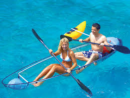 clear kayak totally transparent canoes and kayaks the best prices
