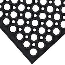 Black And White Floor Rug Cactus Mat 3525 C1bx Vip Tuffdek 3 U0027 X 5 U0027 Black Heavy Duty Rubber