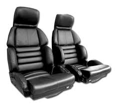 corvette seat covers c4 c4 corvette 1984 1996 100 leather seat covers pair mounted