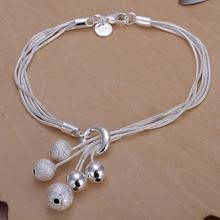 popular small silver bracelet buy cheap small silver