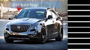 buick vehicles latest car 2016 buick regal youtube
