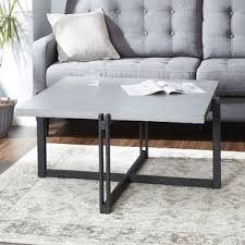 coffee table with iron base iron base coffee table wayfair