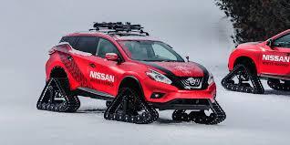 nissan rogue off road 2016 nissan murano winter warrior vehicles on display
