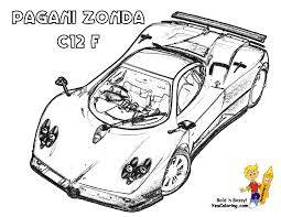 pagani drawing coloring pages blog at yescoloring