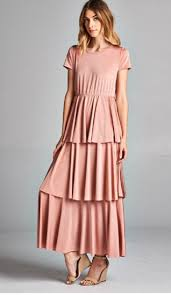blush maxi dress theklassygirlboutique tiered maxi dress blush sale