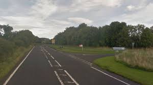 motorcyclist killed in crash in northumberland bbc news