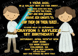 star wars scroll boy and birthday party printable invitations