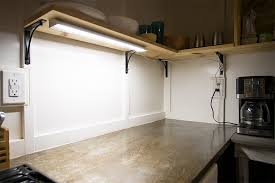 kitchen cabinet led lighting dimmable under cabinet led lighting fixture w rocker switch kitchen