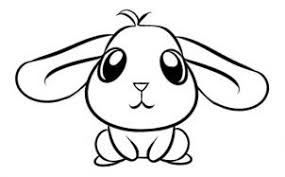 coloring lovely cute bunny drawings charming wonderful