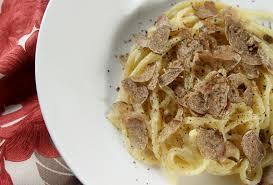 italian white truffle umbrian truffle festival in pietralunga fresh pasta with white