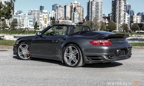 porsche slate gray 2008 porsche 911 turbo cabriolet weissach
