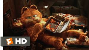 garfield 5 5 movie clip saved by lasagna 2004 hd youtube