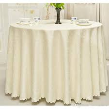 Wedding Table Linens New Luxurious Polyester Round Table Cloth Rectangular Tablecloth