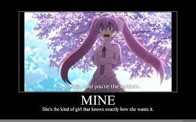 Mine Meme - mine anime meme com