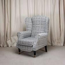 Gingham Armchair Checked Armchairs Ebay