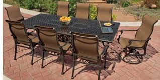 patio furniture set by gensun grand terrace pelican patio store
