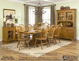 solid oak dining room sets country oak dining room set dining room ideas