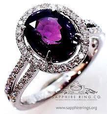 Purple Wedding Rings by Best 25 Natural Sapphire Ideas On Pinterest Natural Sapphire