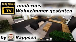 Wohnzimmer In English Minecraft U003d Let S Play Modernes Wohnzimmer Gestalten Youtube