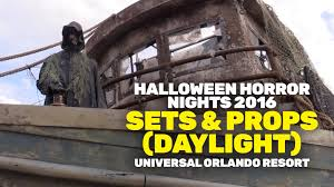 halloween horror nights 2016 scare zone sets u0026 props daylight