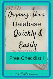 organizing business organize your database quickly and easily estate agents
