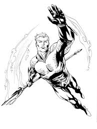 jla aquaman robert atkins art