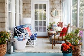 Better Homes And Gardens Interior Designer Estee Stanley U0027s Porch Makeover
