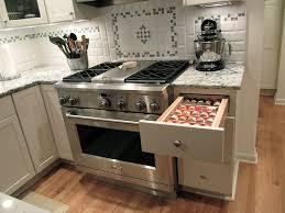 Commercial Kitchen Backsplash Drawer Divider For Storing Spices Kitchen Remodel By Mcclurg