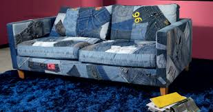 Upcycling Sofa Jeans Sofa 690 U20ac Blue Jeans Pinterest Patchwork Recycle