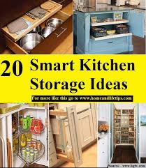 smart kitchen cabinet storage ideas 20 smart kitchen storage ideas home organizing made