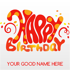 send birthday card write name on happy birthday card and send on whatsapp
