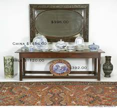 Oriental Secretary Desk by Hap Moore Antiques Auctions April 28 2007