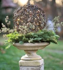 Christmas Decorations For Outdoor Urns by 190 Best Botanical Christmas Decor Images On Pinterest Christmas