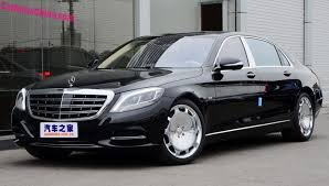 mercedes s600 maybach mercedes maybach s400 s600 launched on the car market
