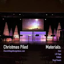 Church Stage Christmas Decorations 38 Best Portable Stage Designs Church Images On Pinterest Church